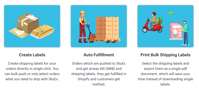 Shopify Shipping App UAE