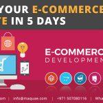 Build your E-commerce Website Dudai in 5 Days | E-commerce website Dubai